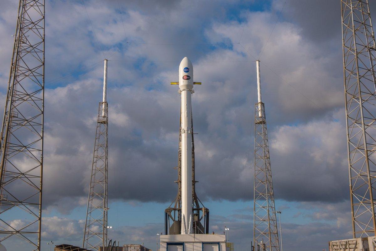 Watch SpaceX launch NASA's latest exoplanet-hunting satellite  Matt Burns         @       10 hours