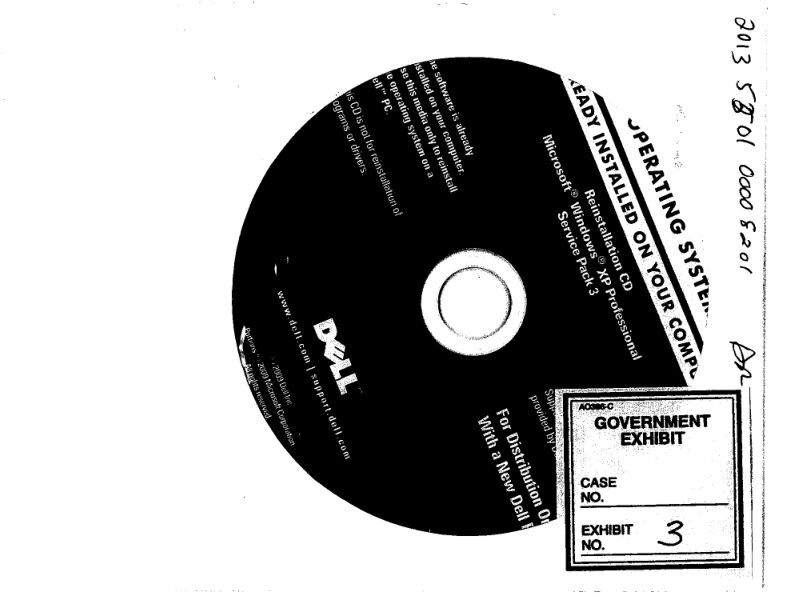 Microsoft attempts to spin its role in counterfeiting case delldisc