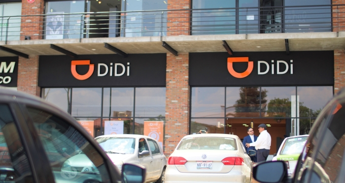 China's Didi Chuxing launches its ride-hailing service in Mexico
