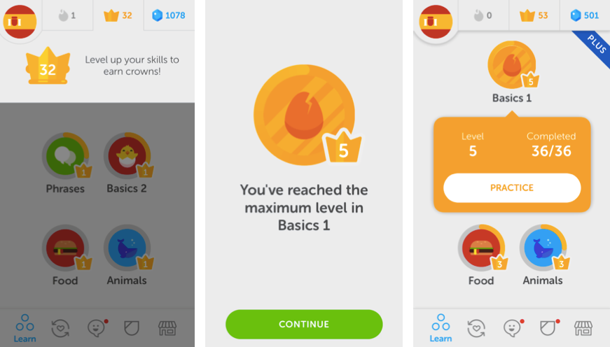 Duolingo adds new language exercises and revamps its leveling system