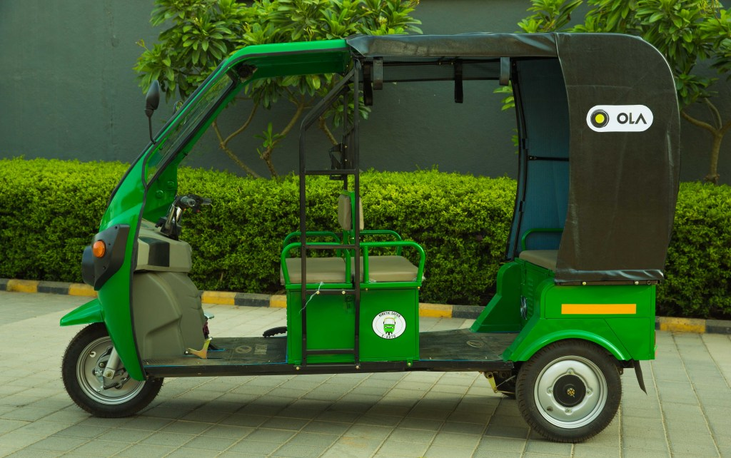 Ola Will Add 10 000 Electric Rickshaws To Its India Fleet Over The