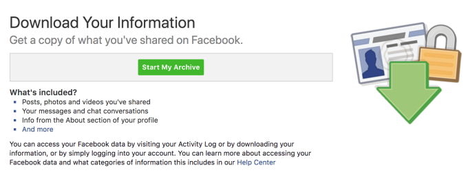 Instagram traps data without a Download Your Information tool
