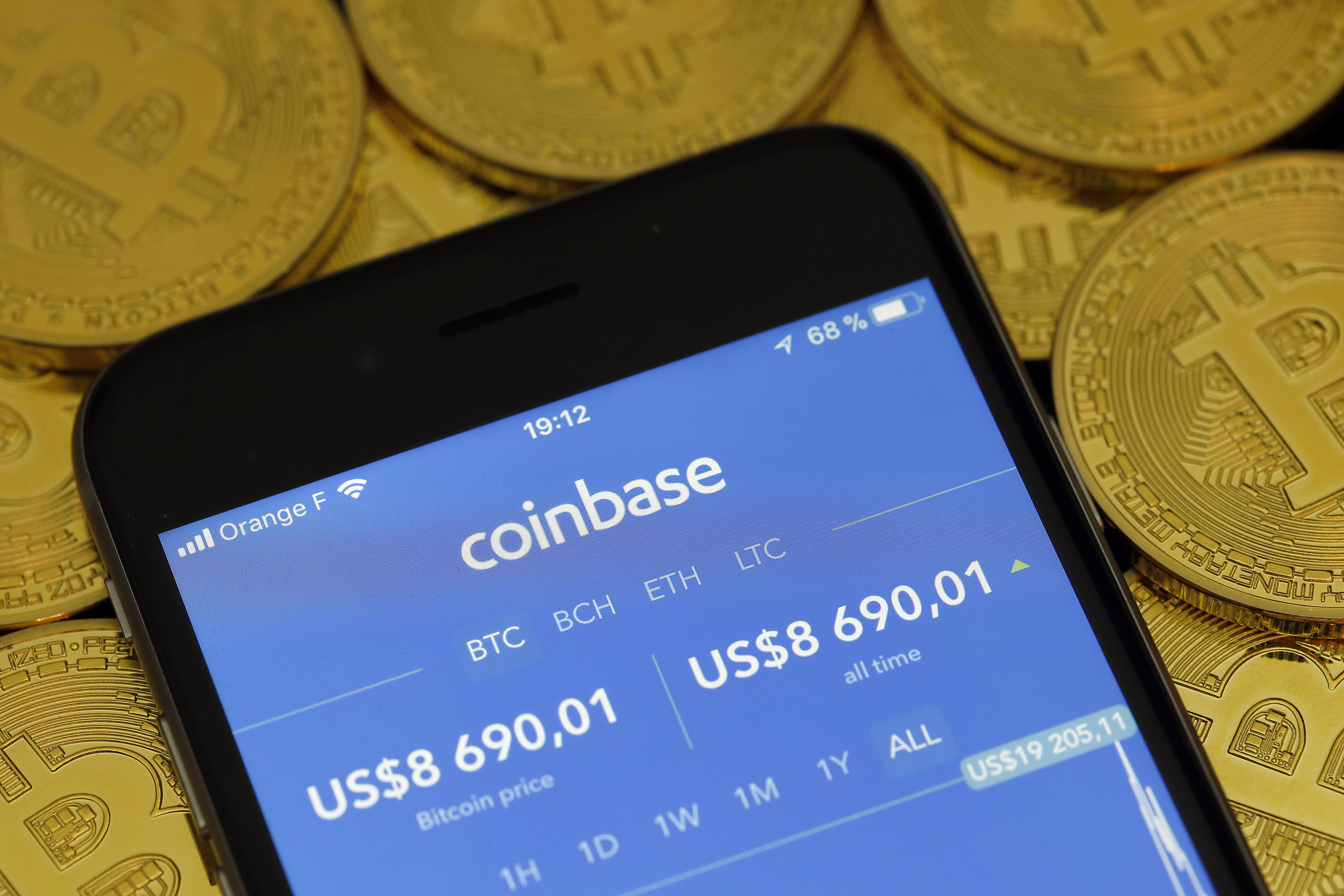coinbase buy price higher