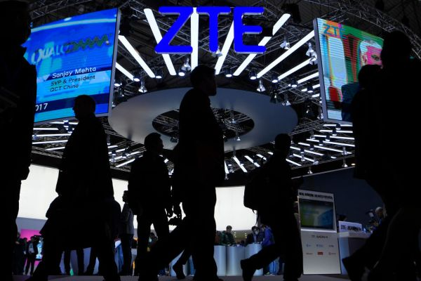 The U.S. and ZTE reach a deal that will lift export ban