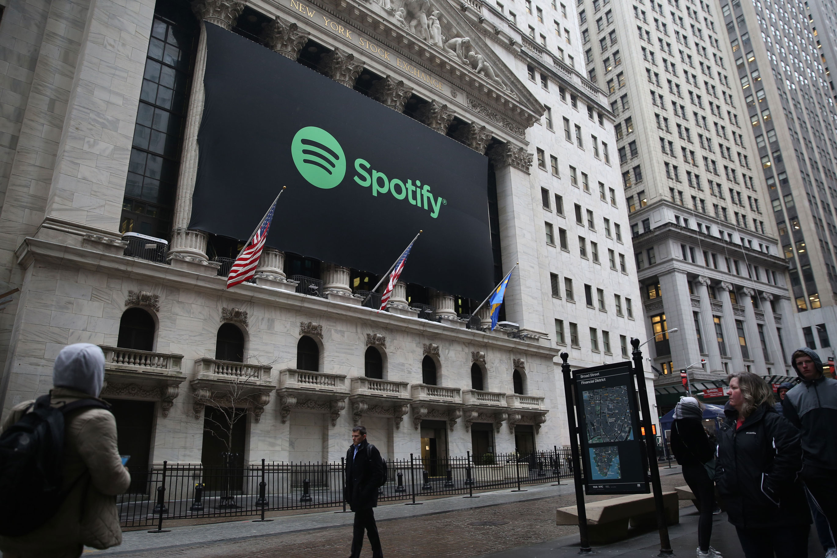 Spotify Ditches