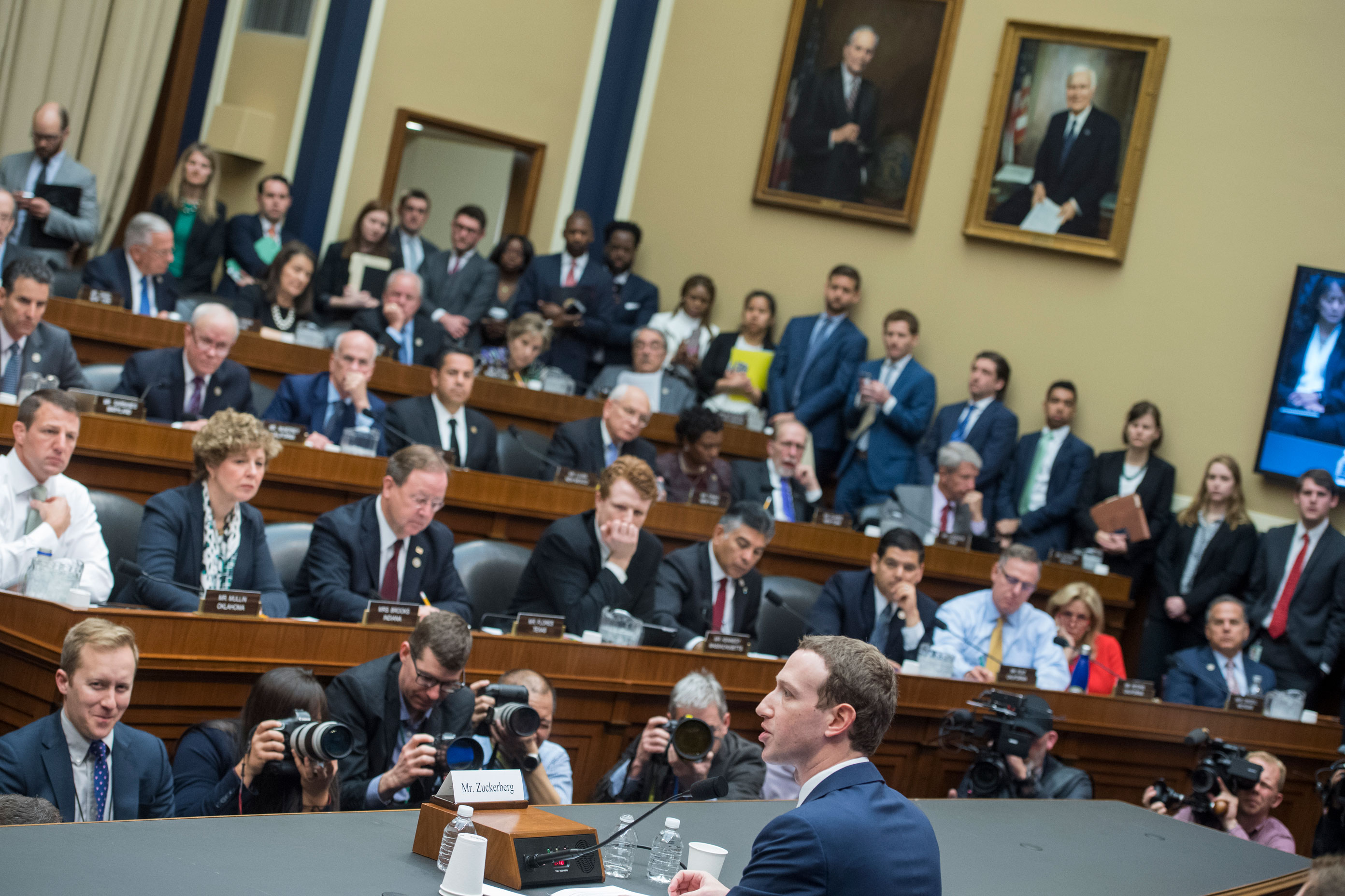 Senators demand answers from Zuckerberg over Facebook data access