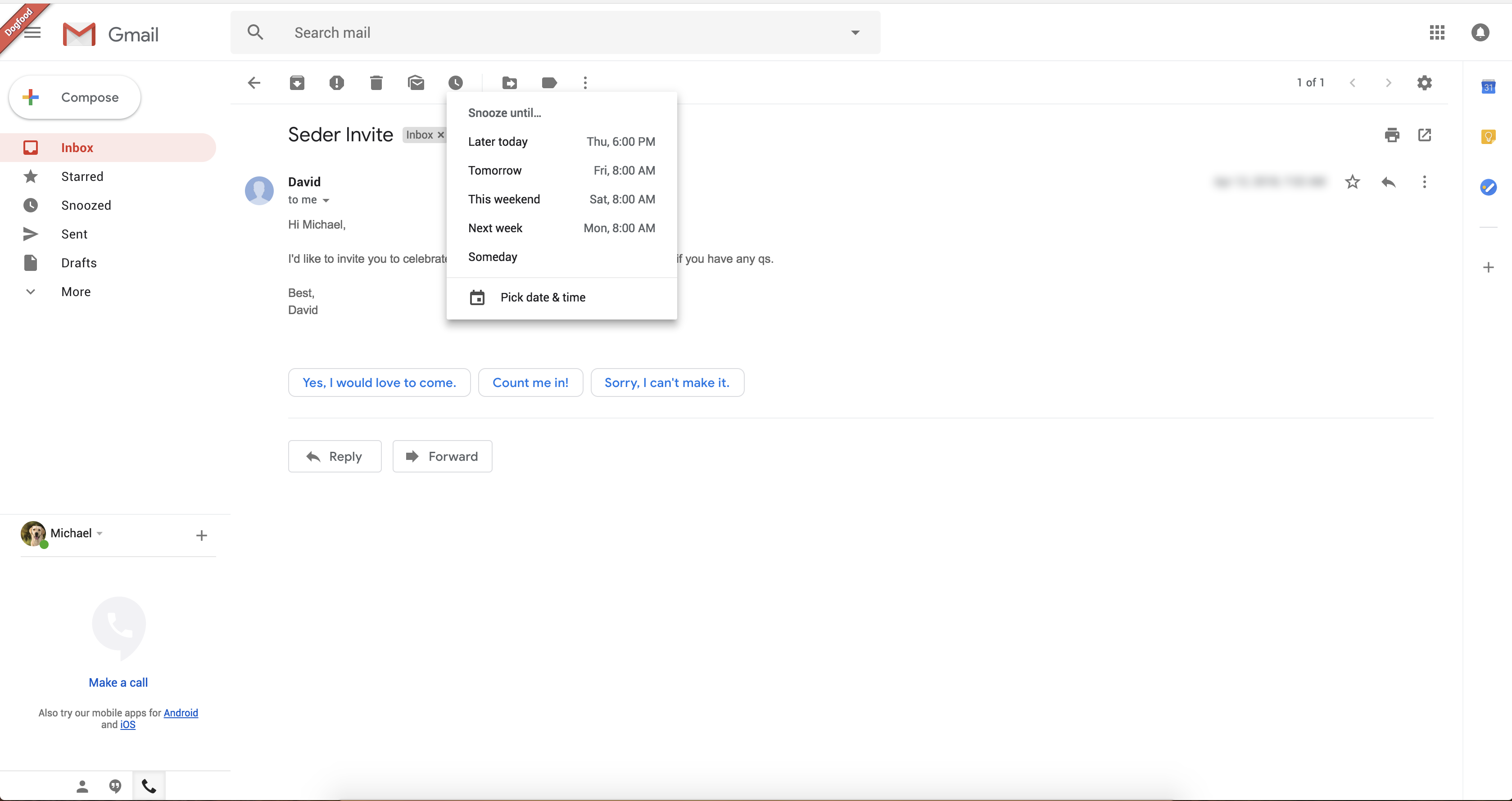 Heres what the new gmail looks like techcrunch as you can see gmail will suggest smart replies in each email thread it seems to be working like in the mobile app with a handful of suggestions below the stopboris Images