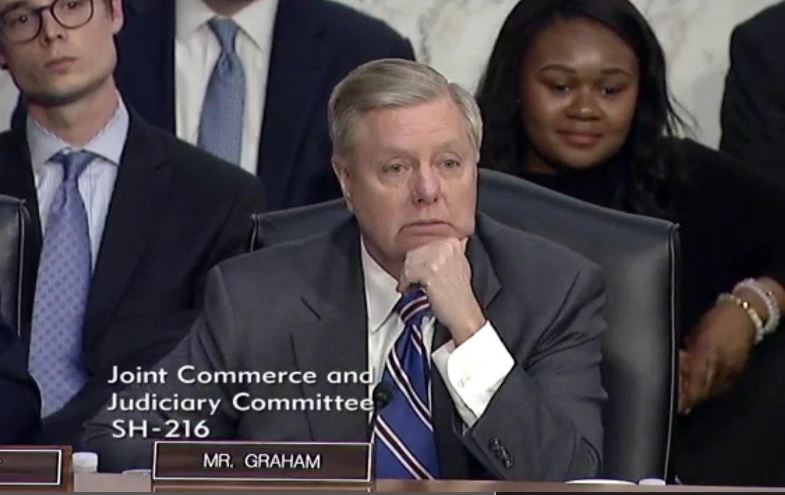 'You don't think you have a monopoly?' Read Sen. Graham's delightful grilling of Zuckerberg