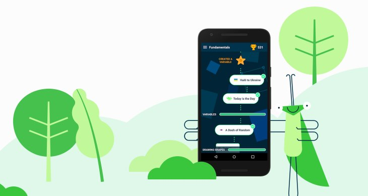 Grasshopper A Learn To Code App From Googles Area 120 Incubator