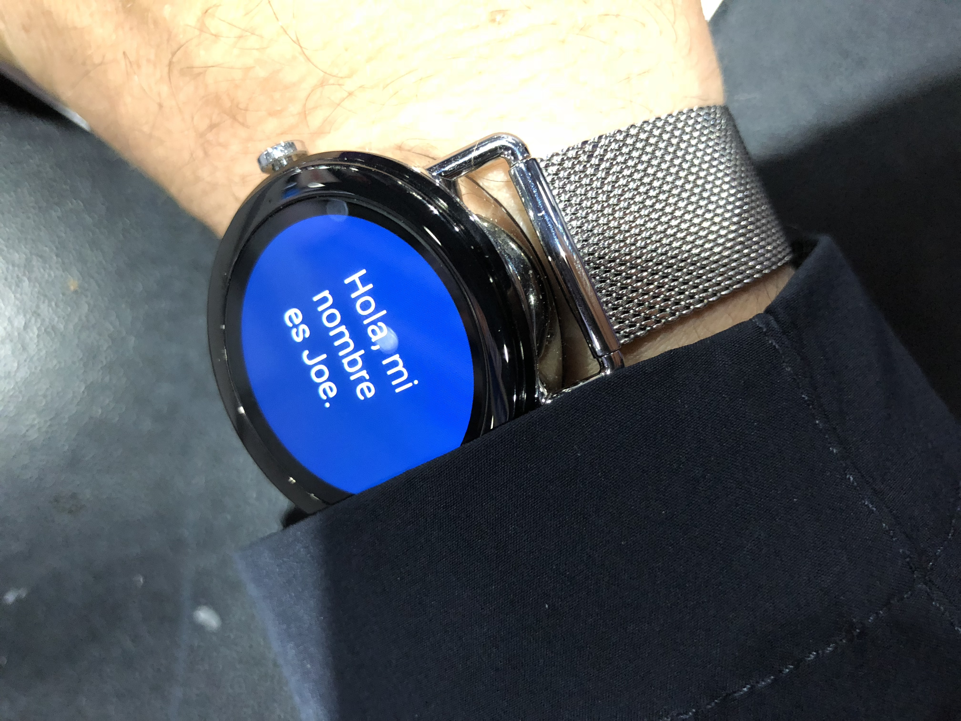 The Skagen Falster is a high fashion Android wearable