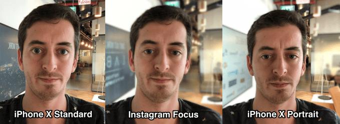 instagram focus vs iphone portrait - Instagram rolls out Focus portrait mode for videos and photos – TechCrunch