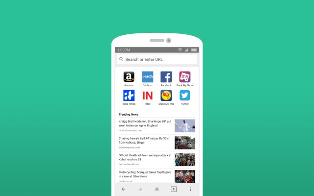 """Amazon launches a """"lite"""" Android web browser app in India"""