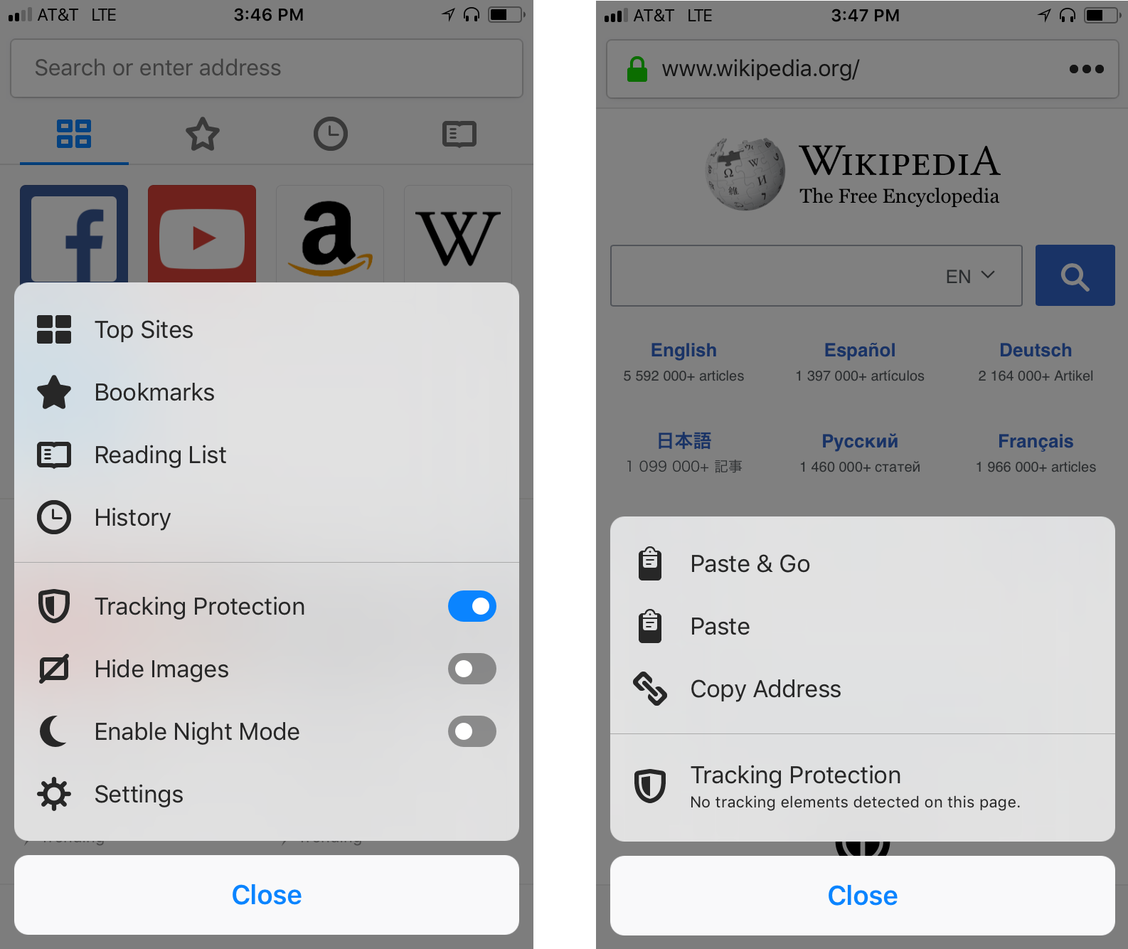 Firefox for iOS gets an Update Centered on Data Protection