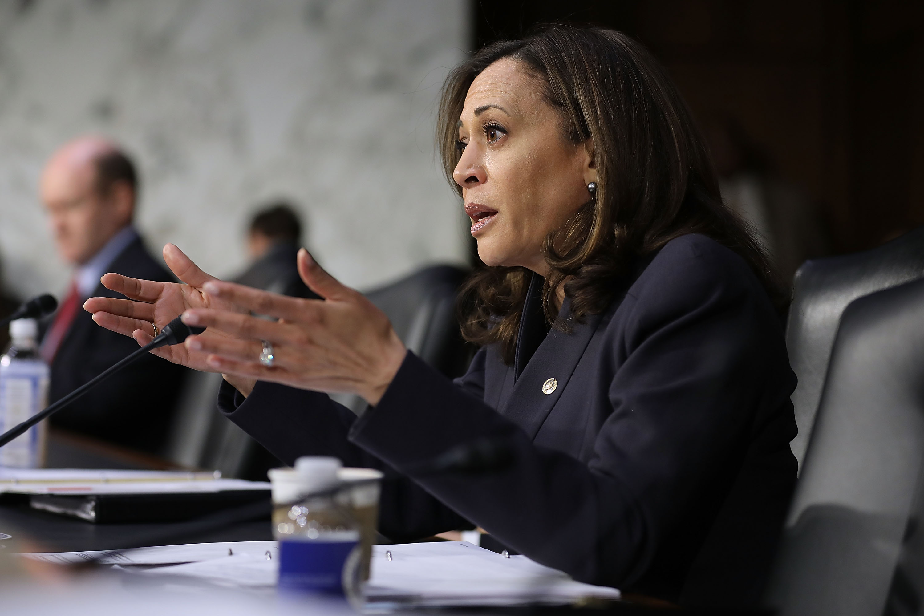 Sen. Harris tells federal agencies to get serious about facial recognition risks