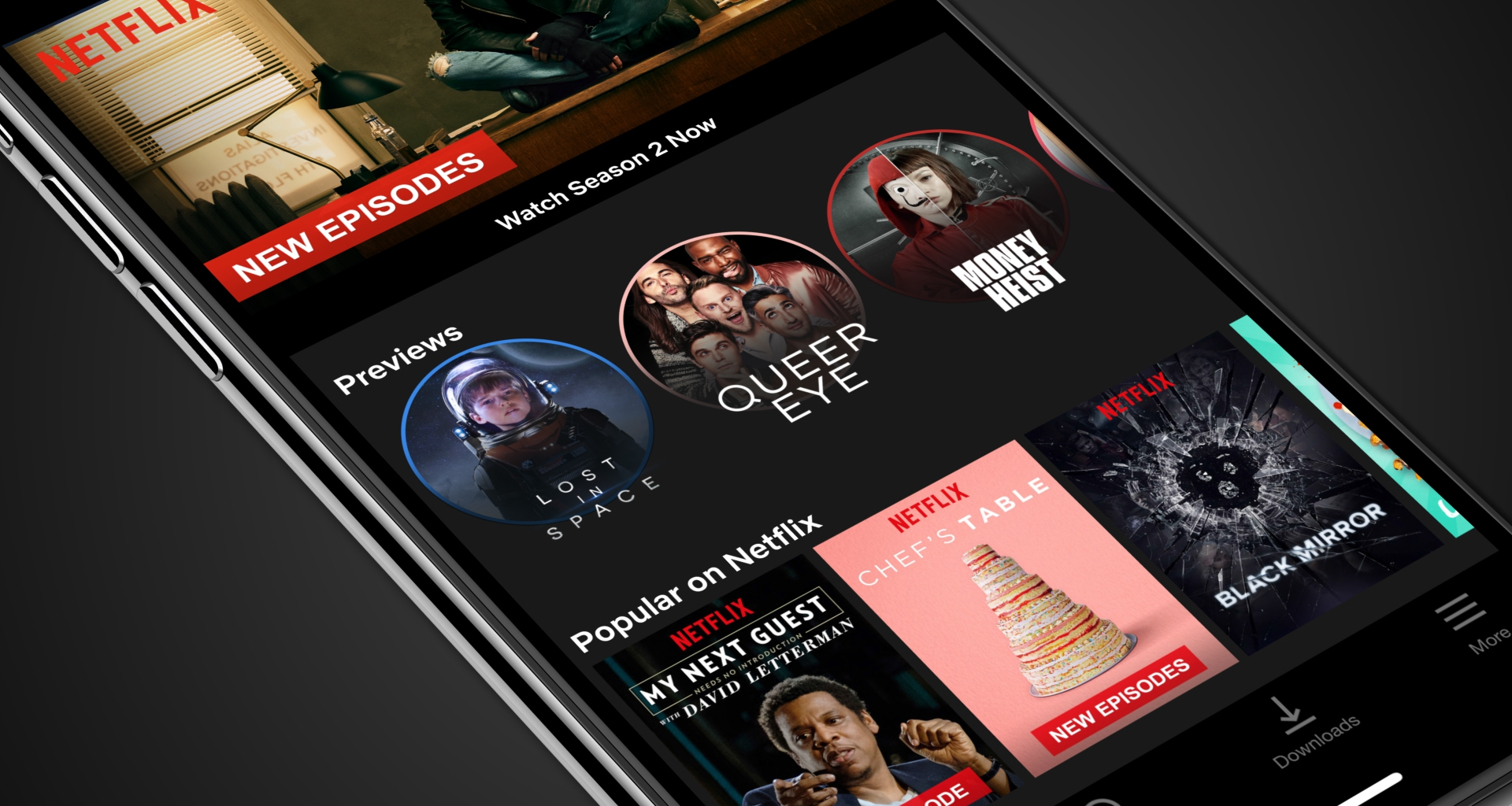 Netflix launches 30-second preview videos on mobile