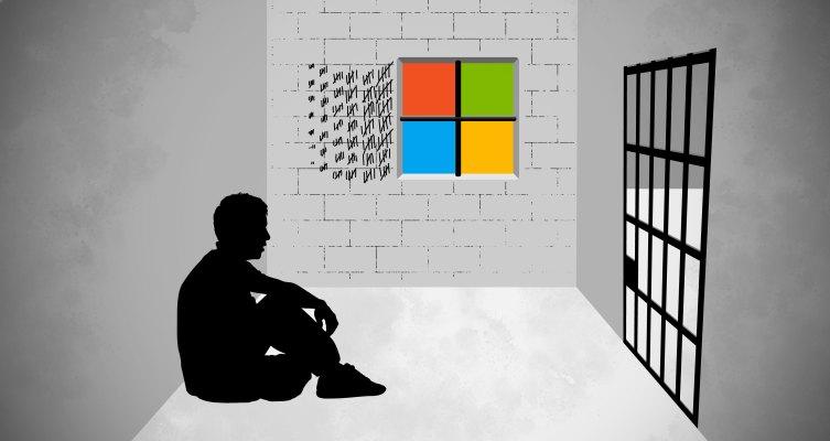 counterfeit copy of windows 7 warning