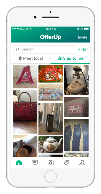 Local marketplace OfferUp takes on eBay with launch of nationwide shipping