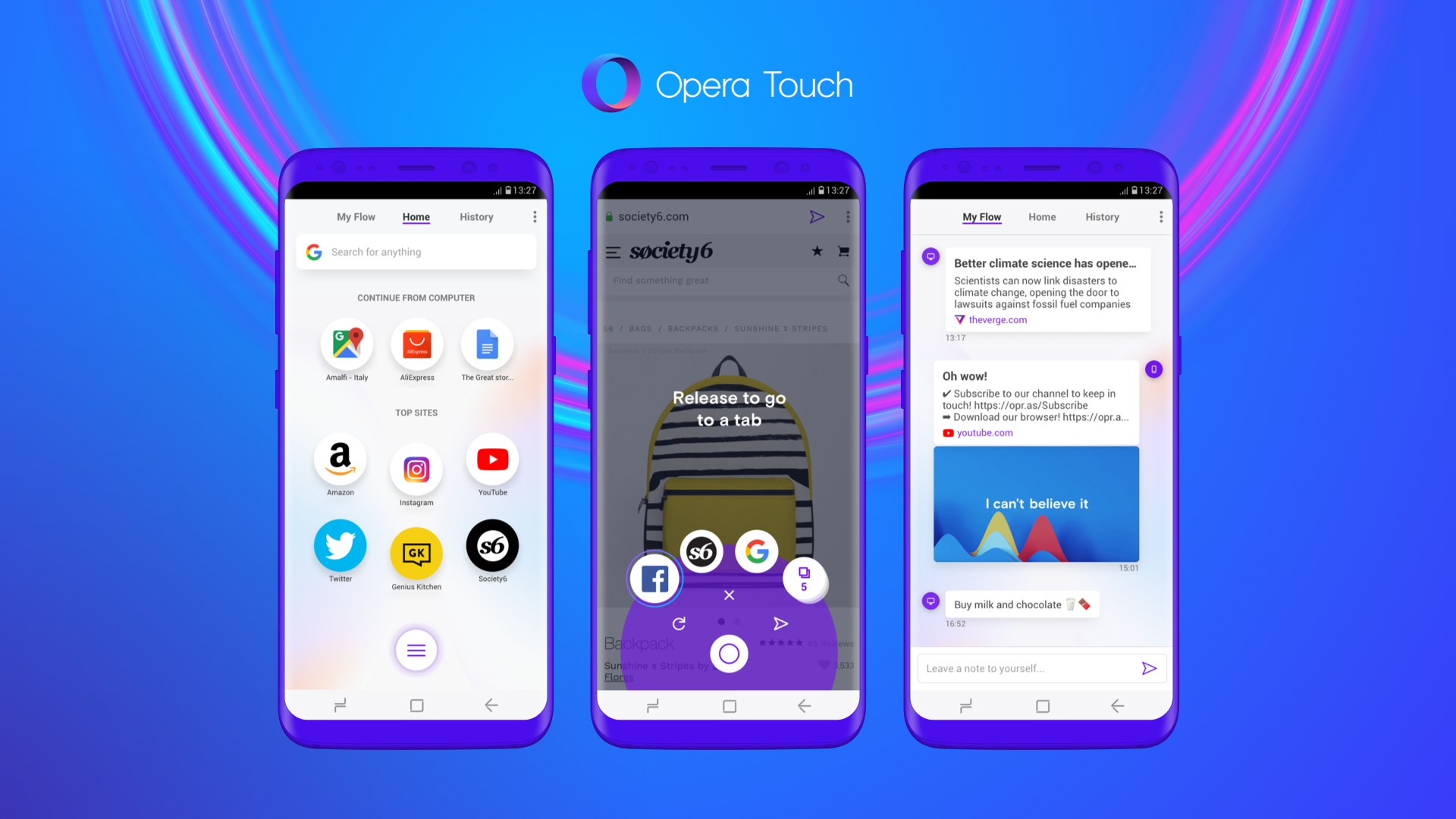 Opera launches a new mobile browser