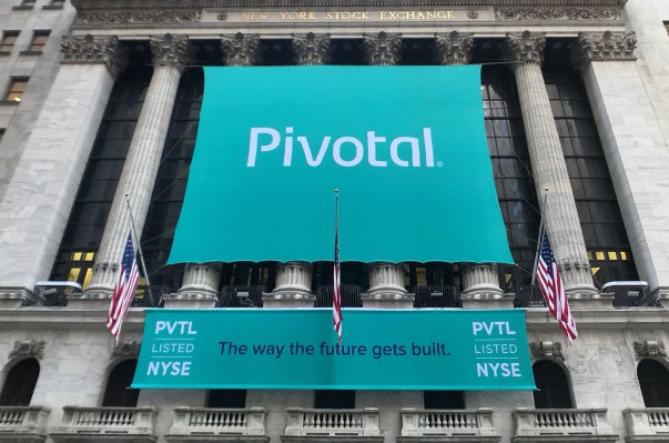 Pivotal Software closed up 5% following IPO, raised $555 million pivotal nyse ipo