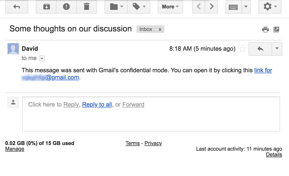 Gmail to Bring Self-Destructing Email Feature to the Platform