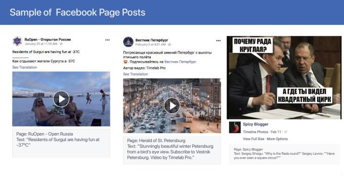Facebook reveals Russian troll content, shuts down 135 IRA accounts