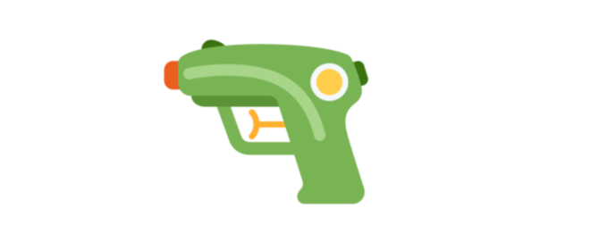 Twitter replaces its gun emoji with a water gun screen shot 2018 04 11 at 4 41 41 pm