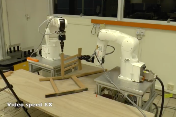 This robot can build your Ikea furniture