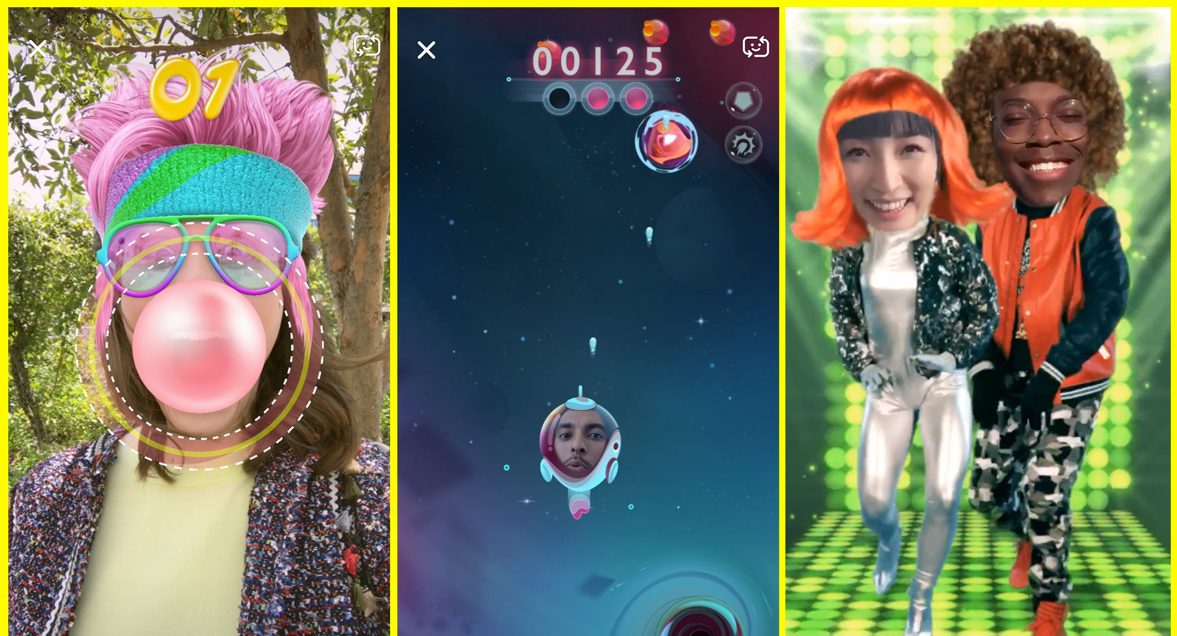 Snapchat's new Snappables let you play augmented reality games with friends