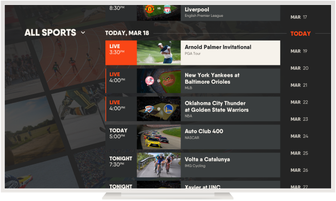 Streaming sports service fuboTV raises $75 million from AMC and others