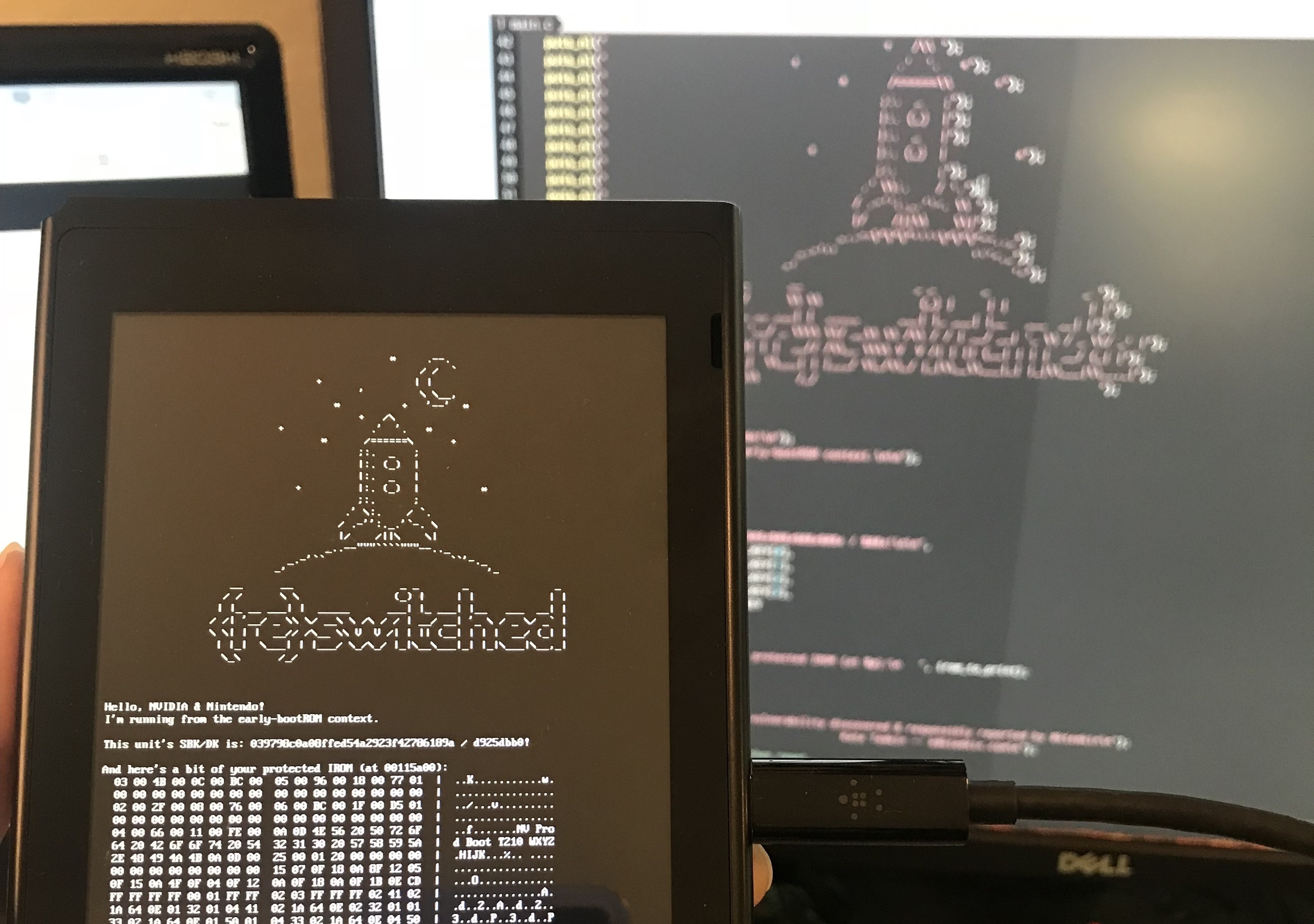 switch_hax & Unstoppable exploit in Nintendo Switch opens door to homebrew and ...