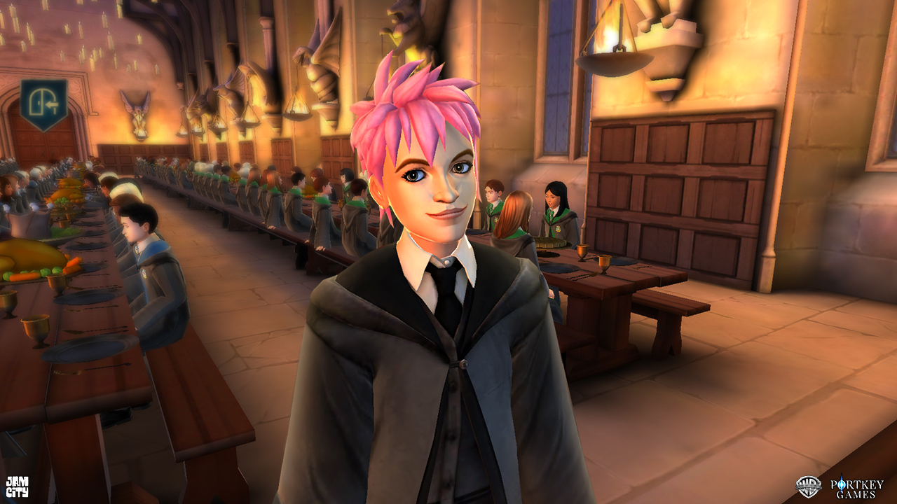 New Harry Potter game, launching today, lets players enroll in Hogwarts tonks  03 v3