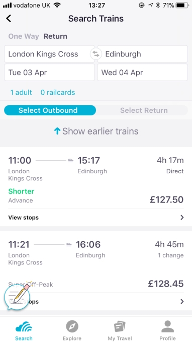 Skyscanner adds train travel booking, starting in UK