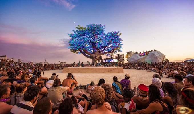 Burning Man's Larry Harvey passes after opening tech's imagination tree of tenere symmetry labs burning man