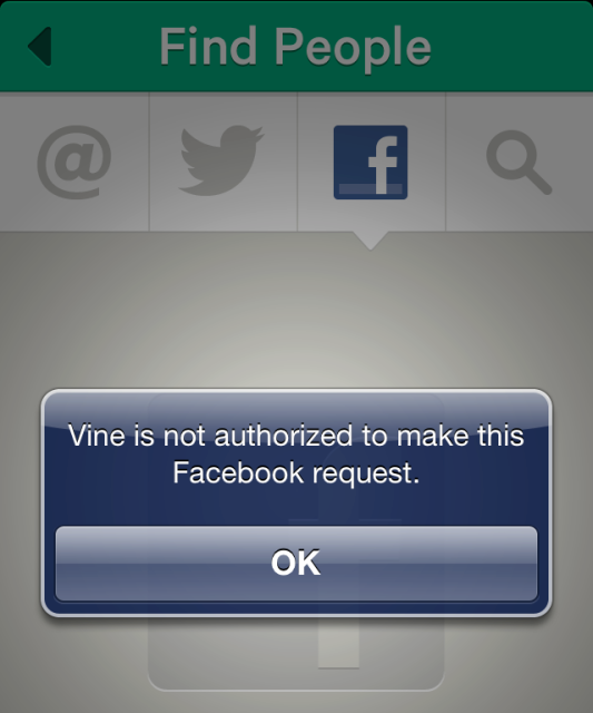 vine blocked - Facebook shouldn't block you from finding friends on competitors – TechCrunch