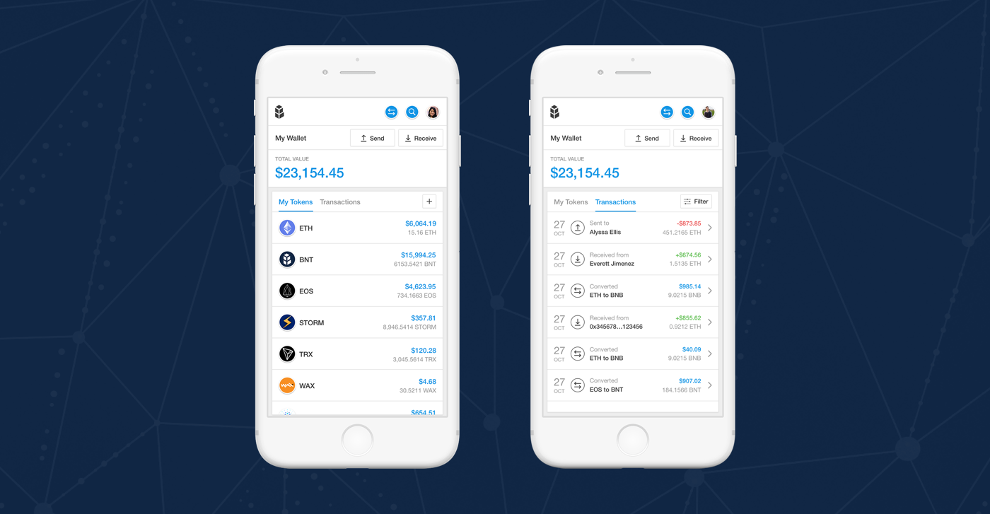 Bancor takes on Crypto exchanges with wallet that converts across