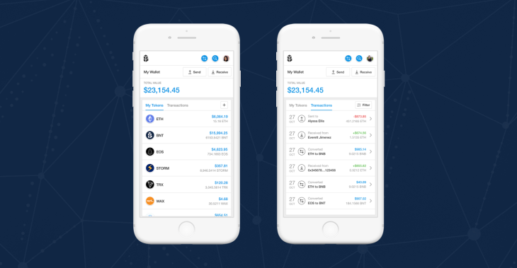 Bancor takes on Crypto exchanges with wallet that converts