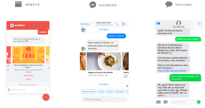 GuestFriend automates chatbot creation for restaurants