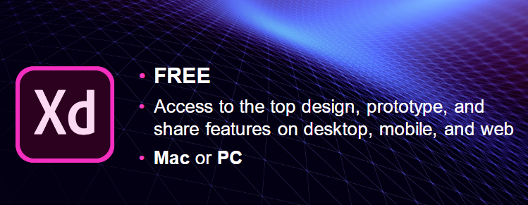 Adobe now offers a free starter plan for its XD design tool