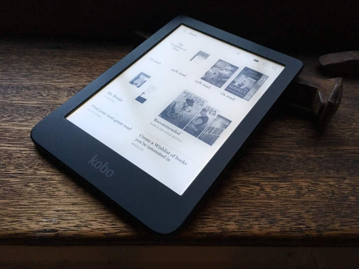 Kobo's new entry-level Clara HD e-reader has a crisp, color