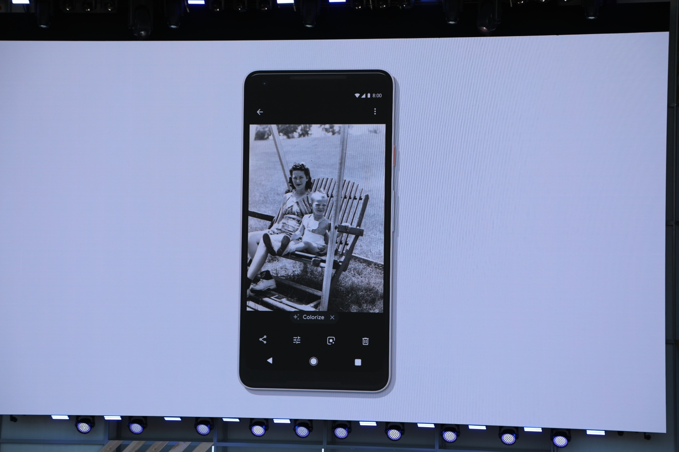Google Photos Will Add More AI-Powered Fixes, Including Colorization Of Black-And-White Photos by Sarah Perez for Tech Crunch
