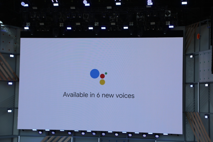 Google adds six new voices and John Legend to Assistant | TechCrunch