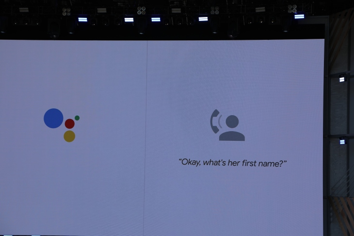 Google Just Showed A Crazy And Terrifying New Feature For The Istant At Its I O Developer Conference Will Soon Be Able Make Calls