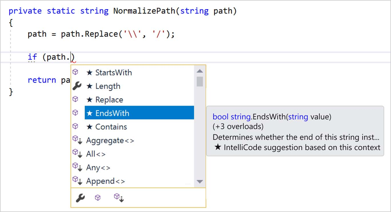 Microsoft's new IntelliCode is a smarter IntelliSense   TechCrunch