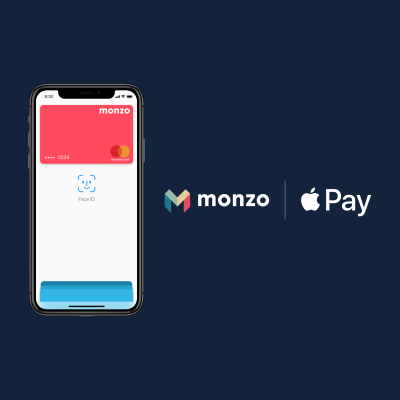 Monzo, the U.K. challenger bank, finally rolls out Apple Pay assorted social
