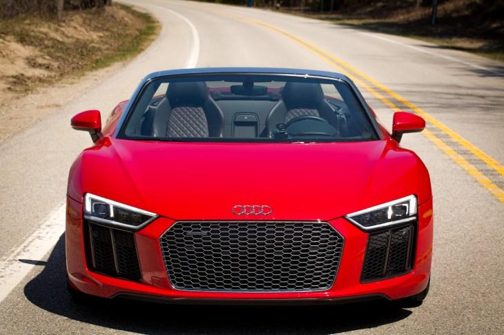 Review A Week In An Audi R Spyder An Everyday Supercar TechCrunch - Audi spyder