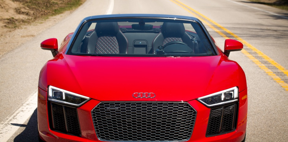 Review A Week In An Audi R8 Spyder An Everyday Supercar Techcrunch