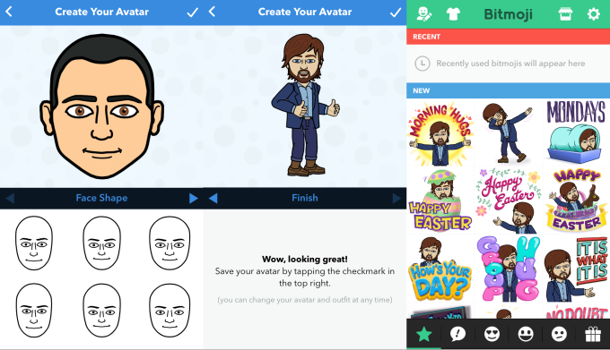 Facebook Ripping Off Snapchat's Bitmoji With 'Avatars'