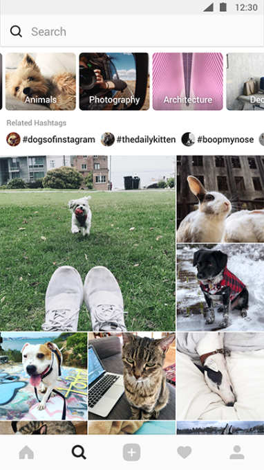 Instagram's 'Explore' section is getting a makeover
