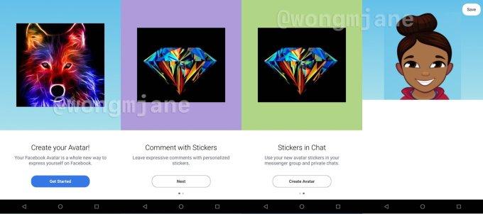 - facebook avatars creator - 'Facebook Avatars' is its new clone of Snapchat's Bitmoji – TechCrunch