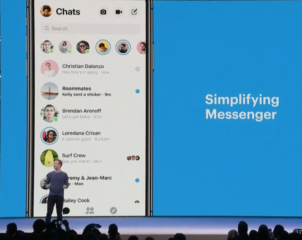 messenger discovery live 1.3